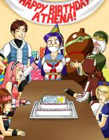 Happy Birthday, Athena! by Brocken-Dynamite