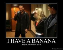 I have a Banana.... by Mickxbeth2012