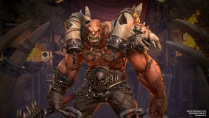 Garrosh - Closeup by Goraaz