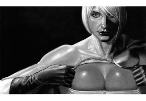 power girl by LOPEZMICHAEL