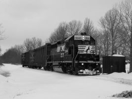 NS GP40-2 3040 by LDLAWRENCE