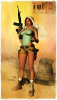 Tomb Raider Tribute 007 by BL65