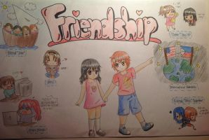 FriendShip Poster by EmoDetectiveEspada