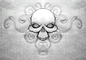 Skull design to be cut by OllusC