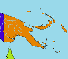 Map of Papua New Guinea by xGeograd