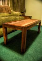 Rosewood Coffee Table by Mokume-no-Zen