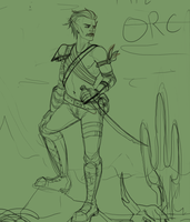 Orc wip by SucroseFiction