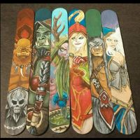 World of Warcraft bookmarks by ezgicelep
