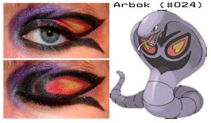 Pokemakeup 024 Arbok by nazzara