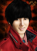 Yesung drawing by Herpderpchan