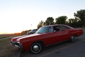 Pontiac And The Setting Sun by KyleAndTheClassics