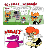 90s furry webcomic by Galago