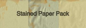 Stained Paper Pack by IHaveSeenTheRain