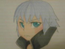 AWWWH Riku chibi by Pon3Splash