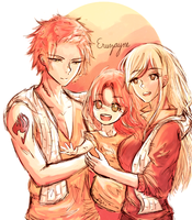 Our Sunshine- with the Dragneel Family by eruzayne