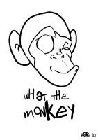 What the Monkey logo version 2 by Bardsville
