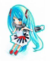 Miku Melody Chibi by carrot-milk