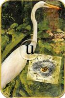 ATC Creativity Alphabet -- u by LauraTringaliHolmes