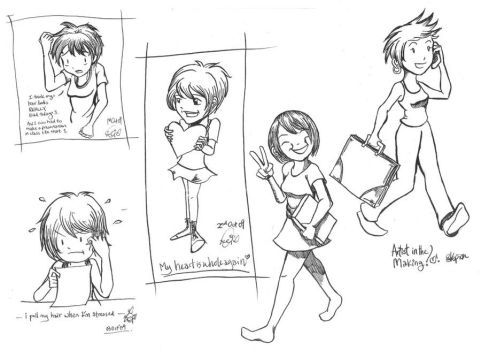 Daily Sketches by Skopion