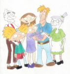 Arnold's Family by Shaami