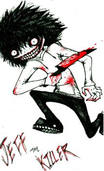 Jeff the Killer by brimstone101