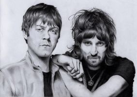 Kasabian-Tom Meighan,Sergio Pizzorno by Mika2882