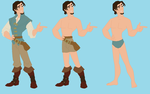 Flynn Rider-  Wreck-It Ralph RP Fantasy outfits by Dinalfos5