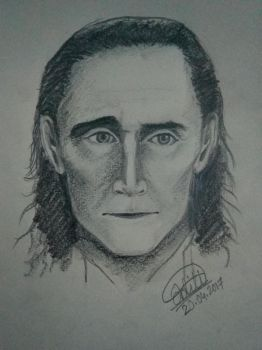 Memory drawing (Loki) by Adititwh