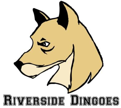 Riverside Dingoes Logo by VintageMeGood