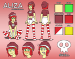 Aliza - Reference Sheet by 34Qucker