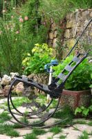 Wrought Iron Chair by strangetofla