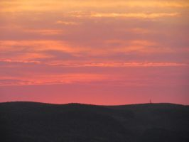 Sunset over New Mexico by whendt