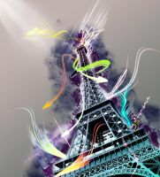 My Love - La Tour Eiffel by SawSomething