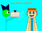 Happy Birthday AniMat505 by SuperMarioFan65