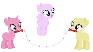 Jump Rope Fillies Base by SelenaEde