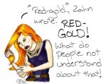 Red-Gold Hair by CarpeDiemRedhead