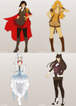 RWBY Cosplay by Synnesai