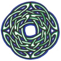 Knotwork 06 by clearwater-art