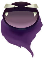a ball of Gastly by L4nd0