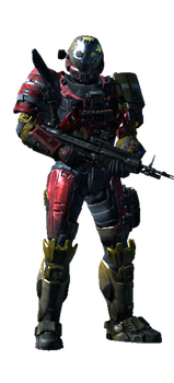 My Halo Reach Player Model by DrakeRenar1