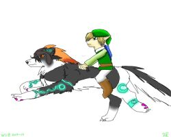if twilight princess had a sequel by Wolvestorms