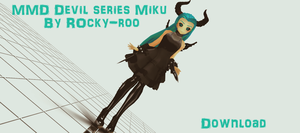 Download - Devil Series Miku by Rocky-Roo