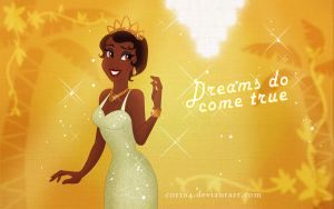 Tiana Wallpaper by Cor104