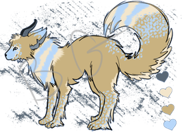 Canine Adoptable - Open by BakedGewds