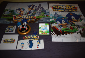 Sonic Generations collection by Vertekins