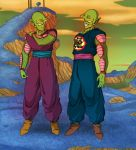 Comm - Piccolo and his father by pallottili