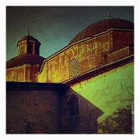 Green Mosque by akirmak