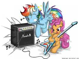 Guitar Lesson by FlutterThrash