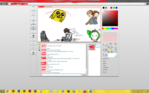 Pewdiecry in iScribble by ScarletteLetas