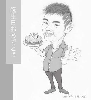 My Friend Andre's Caricature by Diablos7